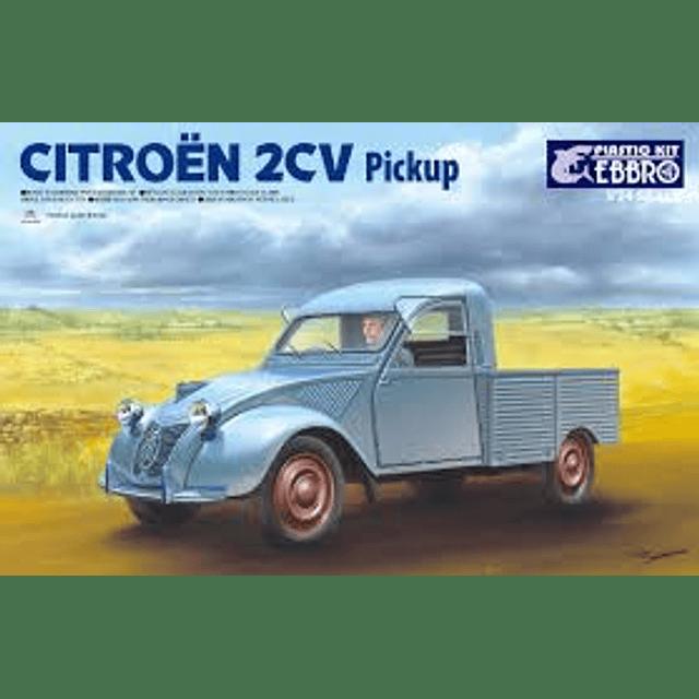 Camioneta Citroen 2CV 1/24