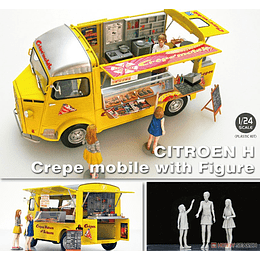 "CITROEN H FOOD TRUCK ""CREPES"" 1/24"