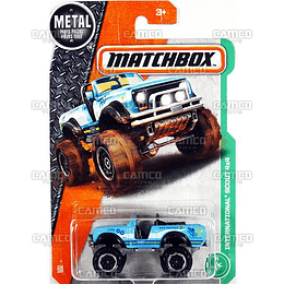 Matchbox International Scout 4x4 #116 blue -2017 1/64