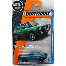Matchbox Automovil VW GOLF COUNTRY 90 1/64  Car Collection 2017