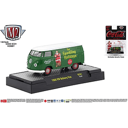 M2 1960 VW Delivery Van Sparkling Holiday Green 1/64