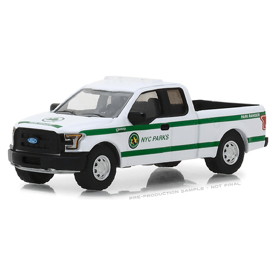 2016 Ford F-150 - New York City Dept. of Parks and Recreation 1/64