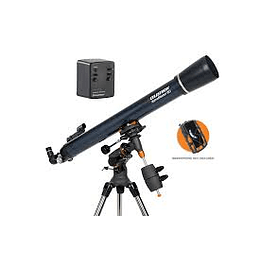 TELESCOPIO CELESTRON ASTROMASTER 80 EQ MOTOR-CEL REF 22070