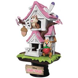 Figura Colección Treehouse Chip N Dale Disney Beast Kingdom