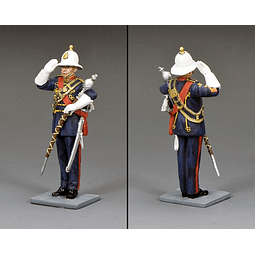 Figura Metálica 1/30 Royal Marine Drum King And Country