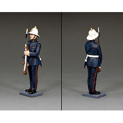 Figura Metálica 1/30 Royal Marine Arms King And Country