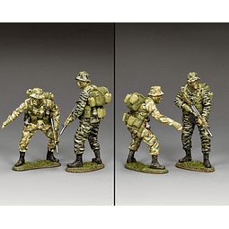 Figura Metálica 1/30 Anzac Special Forces King And Country