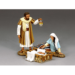 Figura Metálica 1/30 Pesebre King And Country