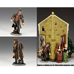 Figura Metálica 1/30 Jack The Ripper King And Country