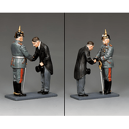 Figura Metálica 1/30 Taking Power King And Country