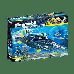 Playmobil Team S.H.A.R.K. Perforadora