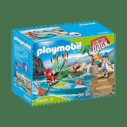 Playmobil Starterpack Aventura En Canoa