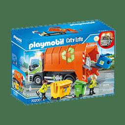 Playmobil Camión De Reciclaje