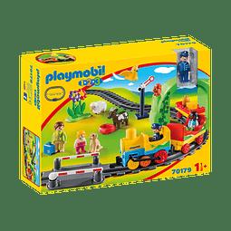 Playmobil 1.2.3 Mi Primer Tren