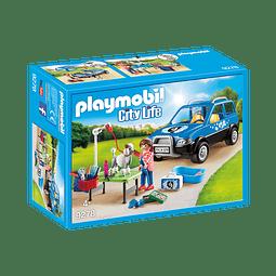 Playmobil Coche Lavandería De Perros