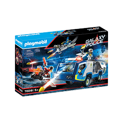 Playmobil Policía Galáctica Camión
