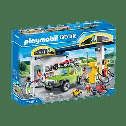 Playmobil Gasolinera