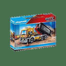 Playmobil Camión volqueta de Construcción