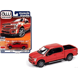 2019 Ford F-150 In Race Red 1/64
