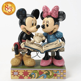 Figura Mickey Mouse And Minnie Sharing Memories 85 Años
