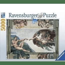 Rompecabezas Ravensburger La Creación de Adán