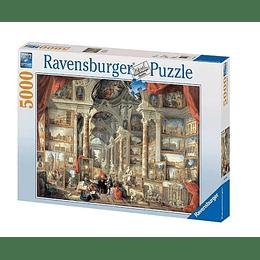 Rompecabezas Ravensburger Vista de la roma moderna