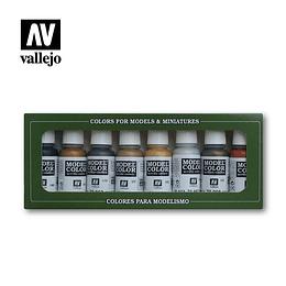 Set: Metallic Colors (8)