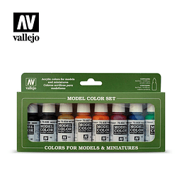 Set: Colores Transparentes (8)