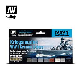 Set: Navy WWII German Colors