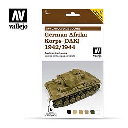 Afv Afrika Korps Aleman 1942/44