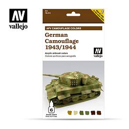 Set German Camouflage 1943-1944 6X8Ml
