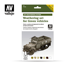 Weathering For Green Vehicles 6X8Ml+10Ml.