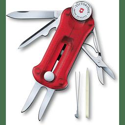 Navaja Multiherramienta Golf Tool  Rojo Transparente