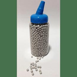 Tarro balines plásticos