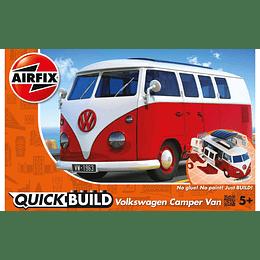 Quick Build Vw Camper Van Airfix