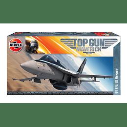 Avión para armar Top Gun Mavericks F-18 Hornet 1/72
