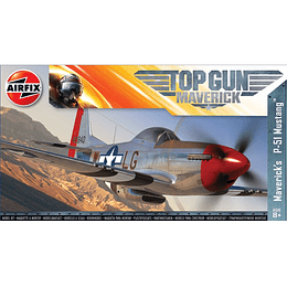 Modelo para armar Top Gun Maverick P-51D Mustang 1/72