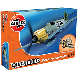 Avion para armar Quick Build Messerschmitt Bf109E Airfix