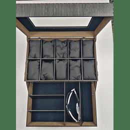 Caja para Relojes y Gafas en  Chapilla