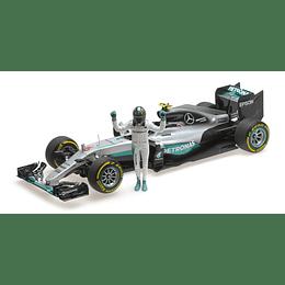 Mercedes Amg Petronas F1 Team 1/18