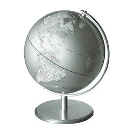 Mapamundi Plateado 25Cms