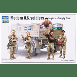 Figura 1:35 Para Armar Modern U.S.Logistics Supply Team