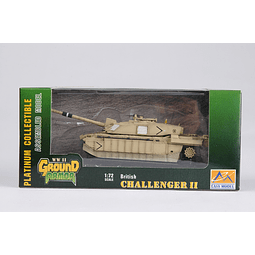 Tanque 1:72 Coleccion Challenger Ii- In Iraq 2003