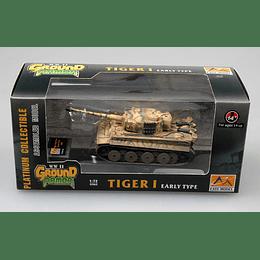 Tanque 1:72 Coleccion Tiger 1 (Early)-Das Reich-Russia?1943