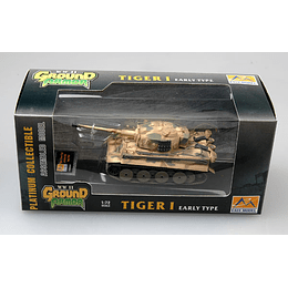 Tanque 1:72 Coleccion Tiger 1 (Early)-Spzabt.508 Italy?1943