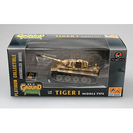 Tanque 1:72 Coleccion Tiger 1 (Middle)-Spzabt.508 Italy1944