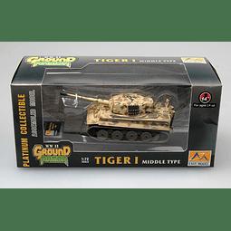 Tanque 1:72 Coleccion Tiger 1 (Middle)-Spzabt.510 1944