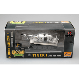 Tanque 1:72 Coleccion Tiger 1 (Middle)Spzabt.506 Russia 1943
