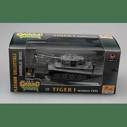 Tanque 1:72 Coleccion Tiger 1 (Middle)Spzabt.101  1943
