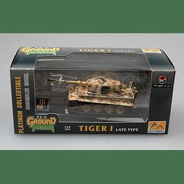 """Tanque 1:72 Coleccion Tiger I (Late) """"Totenkopf""""  1944  912"""